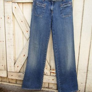 CHLOE jeans med wash relaxed fit 100% cotton US 2